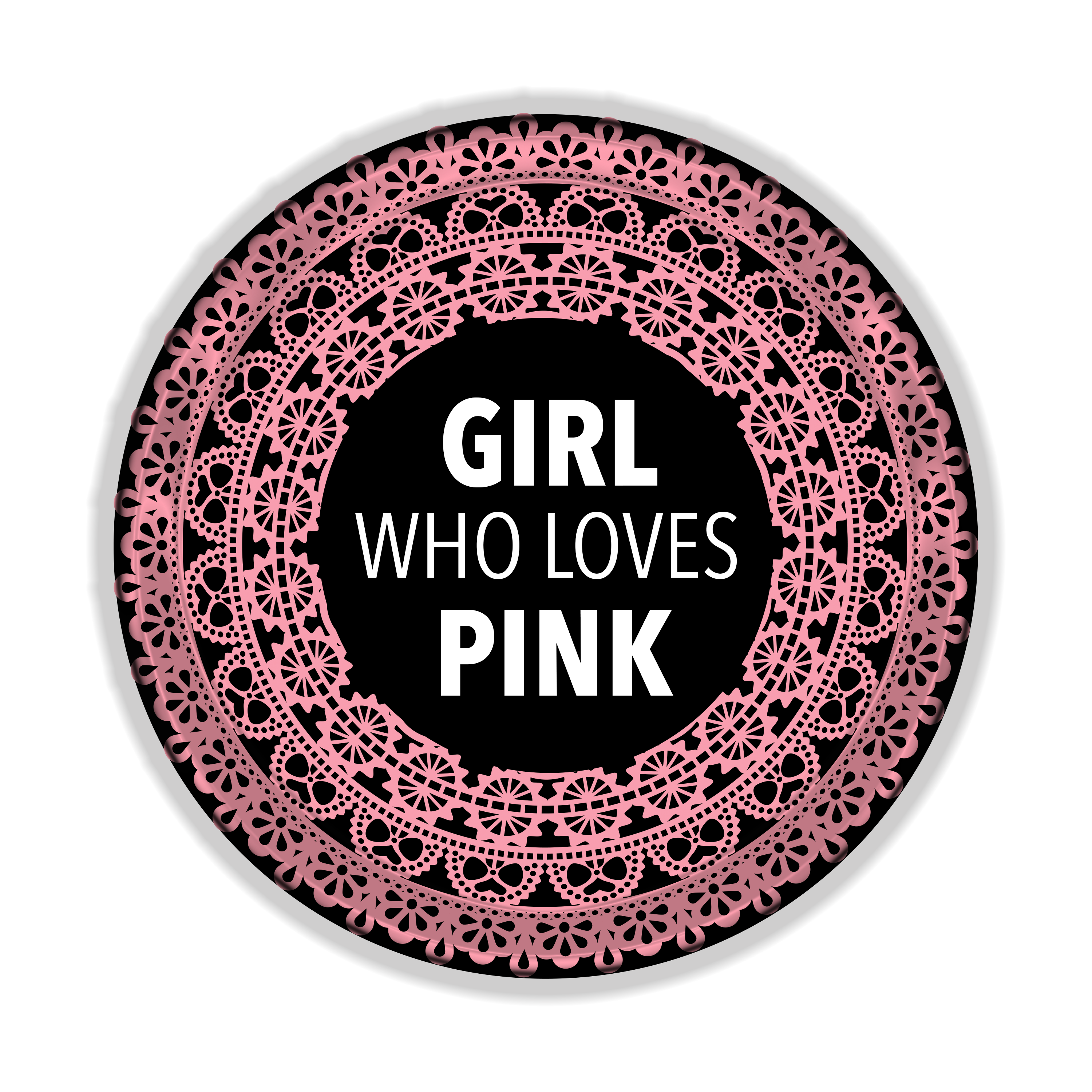 Girl Who Loves Pink Logo